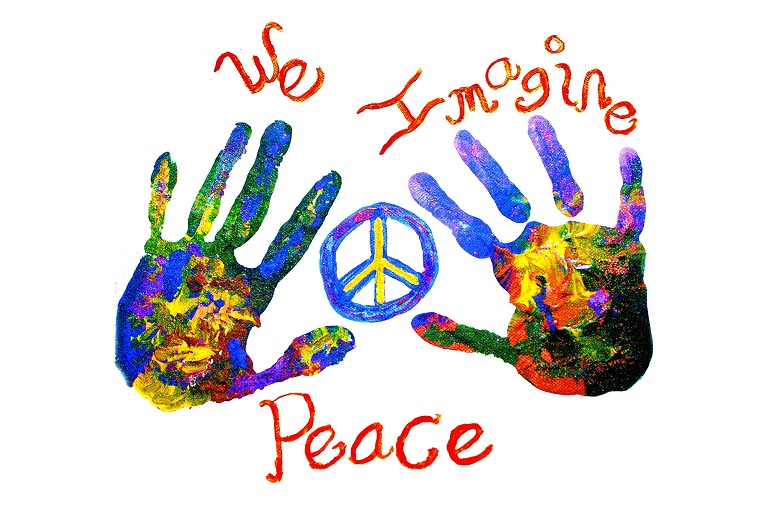 hands and peace