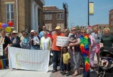 Sacred Journeys at the Racine Pride Parade
