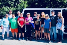 Volunteers on the 2018 Appalachia Service Project mission trip.