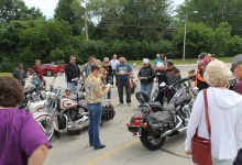 Sacred Journeys motorcycle blessing