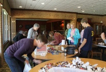 Stuffing bags for nursing home residents